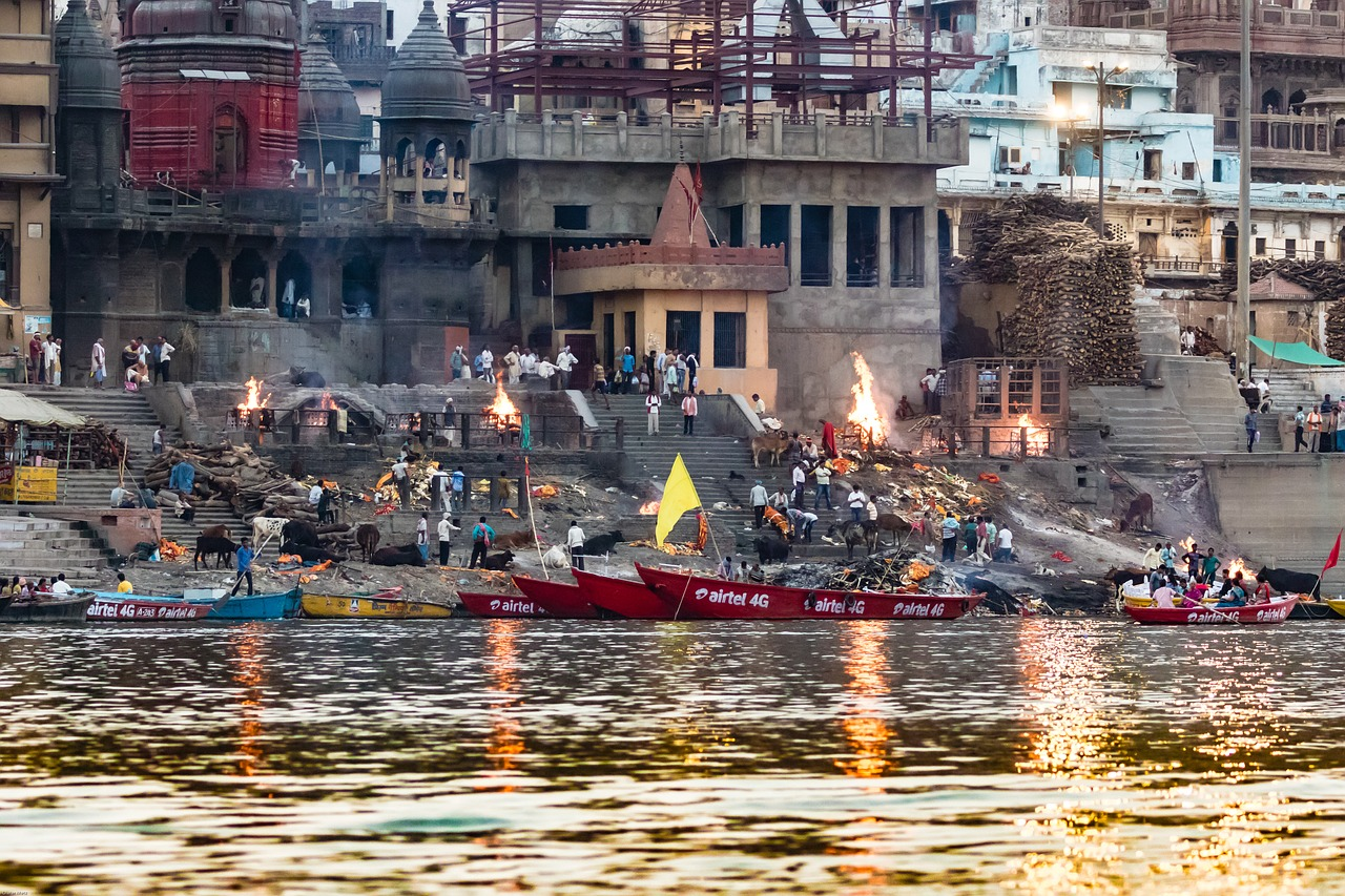 Visiting India: Travel to Varanasi and the Ganges