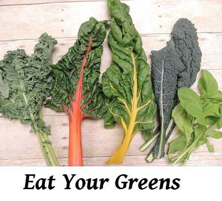 Why Eating Green Leafy Vegetables is Good (For Me)