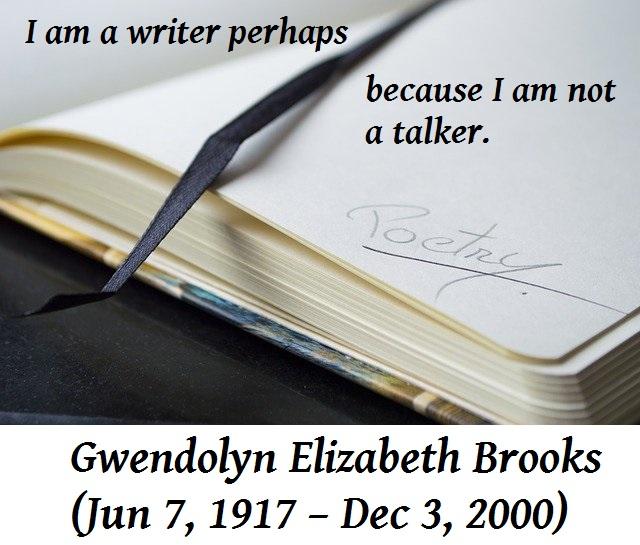 Gwendolyn Elizabeth Brooks: Famous African-American Poet