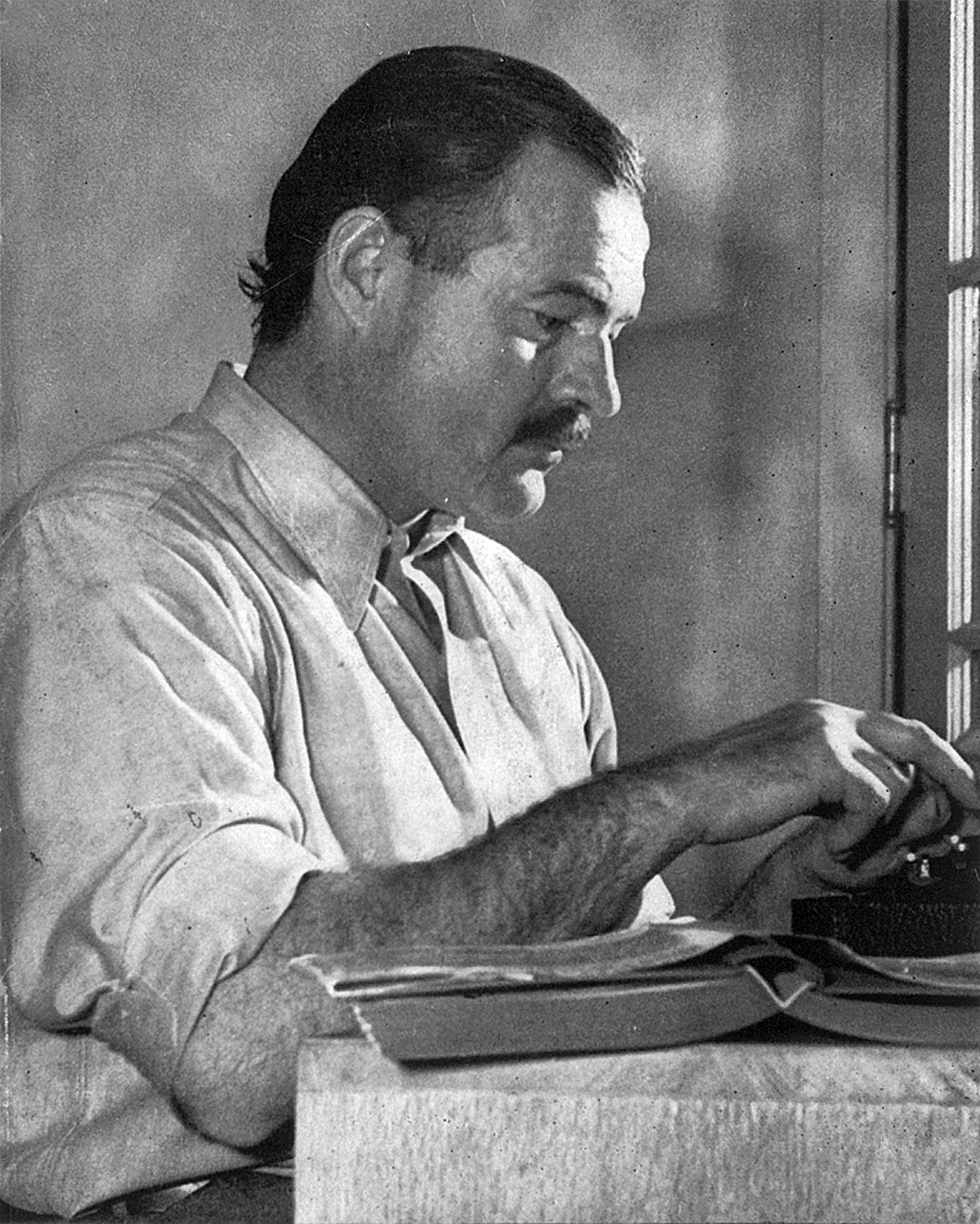 Nobel Prize Winner Ernest Hemingway